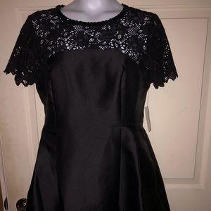 Jessica Simpson Embellished Black Dress Size 14